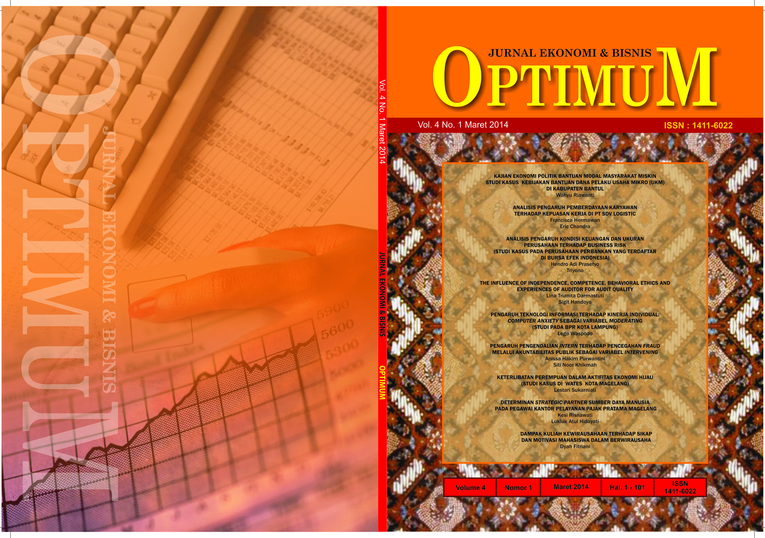 Cover OPTIMUM 2014 - 03 luar